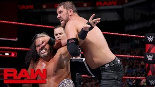 """Woken"" Matt Hardy vs. Curtis Axel: Raw, July 2, 2018"