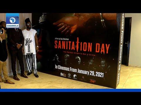 Comic Thriller 'Sanitation Day' Premieres In Lagos
