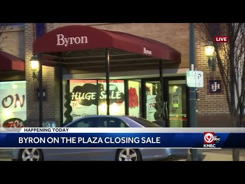 Byron on the Country Club Plaza closing