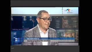 Victor Ponta si Corina Cretu invitati la TVR Cluj 17.01.2019