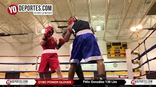 Felix Gonzalez Champion CYBC Power Gloves 2017