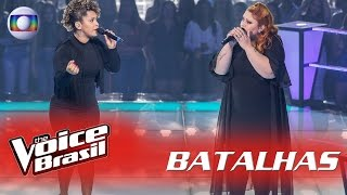 Fabiane e Isabela Hulk cantam 'Set Fire to The Rain' nas Batalhas - The Voice Brasil | 5ª Temporada