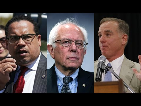 DNC Chair BATTLE: Berniecrats vs The Establishment Poster