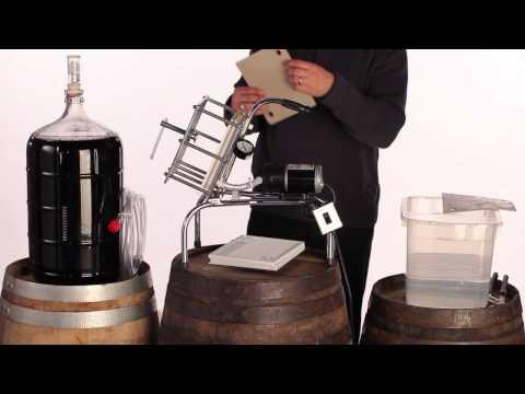 Using Your Buon Vino Super Jet Wine Filter