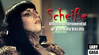 Lady Gaga - Scheiße (Official Instrumental with Backing Vocals