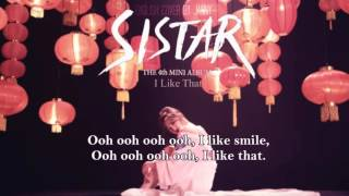 [English Cover] SISTAR(씨스타) - I Like That by JANNY