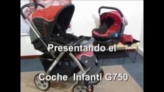 41dbfb1c6 Coche Infanti G750 en Creciendo - YouTube