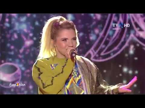 Miruna Diaconescu - Run for you | A doua semifinală Eurovision România 2018