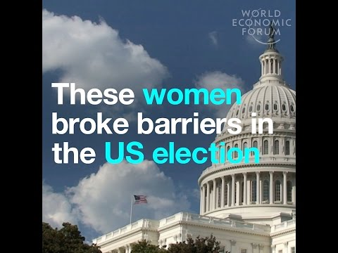 These women broke barriers in the US election