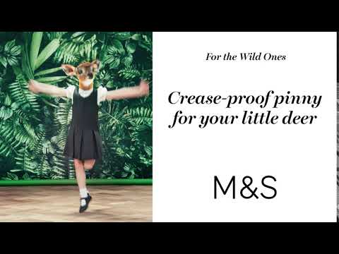 marksandspencer.com & Marks and Spencer Promo Code video: M&S | For The Wild Ones