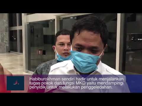 Datangi Gedung DPR, KPK Geledah Ruangan Azis Syamsuddin