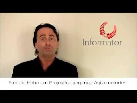 Freddie Hahn om kursen Projektledning med agila metoder
