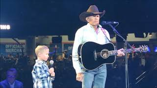 """""""God and Country Music""""-- George Strait with guest Harvey Strait"""