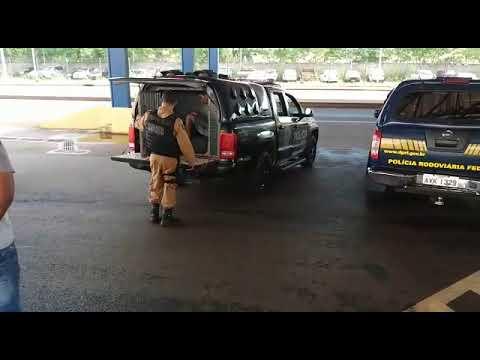 Após atentado contra viatura. PRF recupera carro roubado em Terra Roxa - Portal