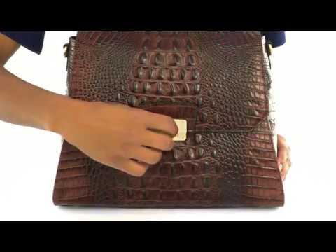 Brahmin Brinley Satchel Video