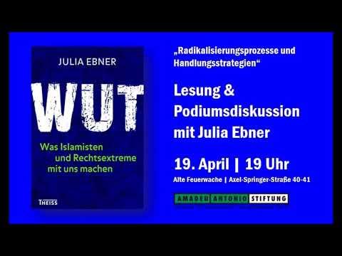 Rechtsextreme und Islamistische Radikalisierung - Julia Ebner und Maik Fielitz im Gespräch