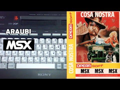 Cosa Nostra (Opera Soft, 1986) MSX [786] Walkthrough
