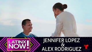 Mira cómo Alex Rodriguez le dio el anillo a Jennifer Lopez | Latinx Now! | Entretenimiento