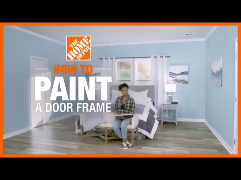 How to Paint a Door Frame