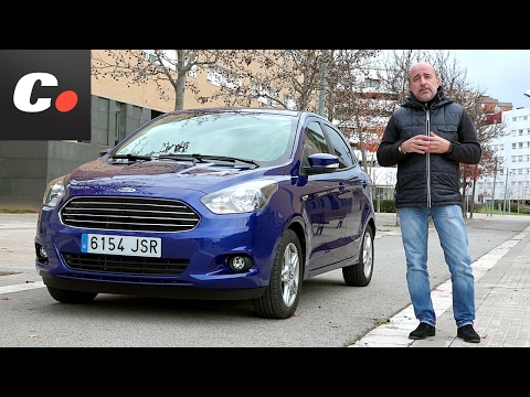 Ford KA+ 2017 (Ka Plus / Figo) | Prueba / Test / Review en español | Coches.net