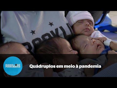 Argentina dá à luz quádruplos em plena pandemia e marido é impedido de encontrá-la