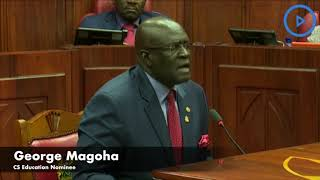 You will be surprised, I will deliver more than Jubilee hardcore, I'm full-blown Kenyan- Magoha