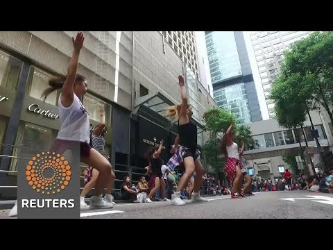 Hong Kong's hard working helpers embrace their day off