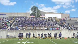 "Alcorn-SOD playing """"Halfway """" 2016 Spring Game at Alcorn State"