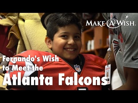 Fernando's Wish to Meet the Atlanta Falcons