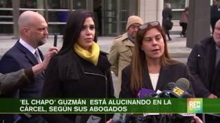 'El Chapo' Guzmán  está alucinando en la cárcel, según sus abogados