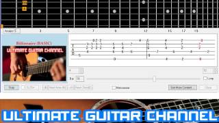 [Guitar Solo Tab] Billionaire (Travie McCoy)