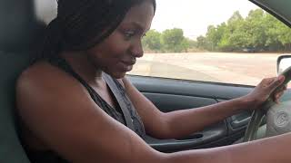 HOW TO DRIVE MANUAL | TAKE DRIVING LESSONS WITH ME!! Abuja, NIgeria Vlog 10