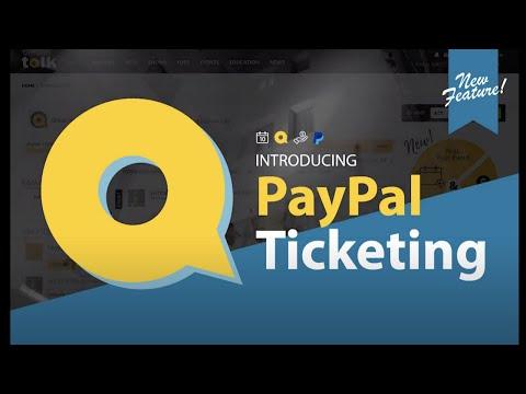 PayPal Ticketing via CircusTalk Event Listing