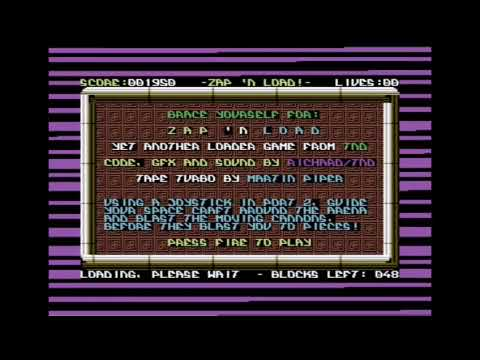 Zap 'n Load [COMMODORE 64 TAPE LOADER]