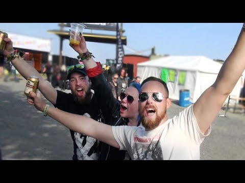 The camping life - Sweden Rock Festival 2017 (english subtitles)