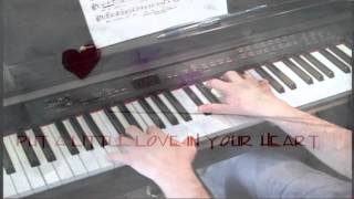 Put A Little Love In Your Heart -- Piano