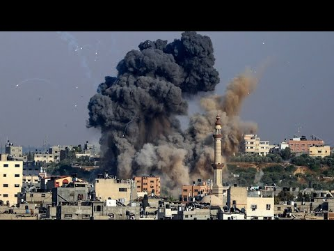 Israeli Jets Continue to Strike Gaza