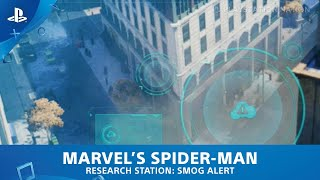 Marvel's Spider-Man (PS4) - Research Station - Smog Alert
