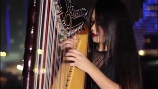 ''Despacito'' de Luis Fonsi Ft Daddy, suena en el arpa paraguaya de Luz Verón