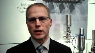 Live von der Brau 2010: Martin Zierer über die neue Ventilserie Krones EvoGuard
