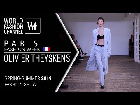 Olivier Theyskens | Spring-summer 2019 Paris fashion week