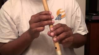 "Hindi song on flute - Yashomati Maiya Se Bole Nandalala   -""Travails with my flute"""