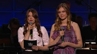 First Aid Kit - Speech for Emmylou Harris, Polar Music Prize 2015