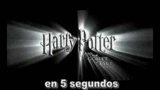 Harry Potter and  el Caliz de fuego en 5 segundos