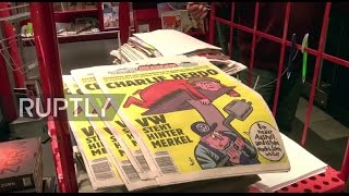 Germany: Merkel makes front cover as Charlie Hebdo launches German edition