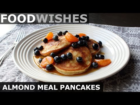 Almond Pancakes - Keto Pancakes (Gluten-Free) - Food Wishes