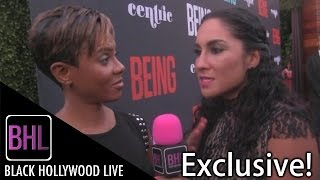 MC Lyte @ BEING Season Premiere Red Carpet | Black Hollywood Live Interview