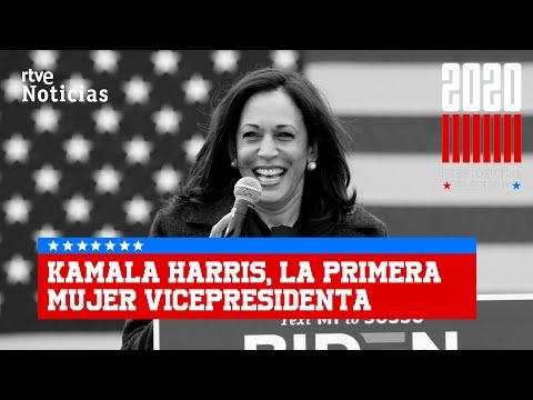 KAMALA HARRIS HACE HISTORIA y se convierte en la PRIMERA VICEPRESIDENTA de EEUU I RTVE
