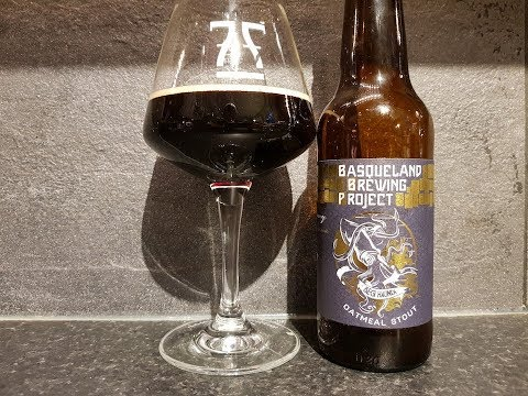 Basqueland Brewing Project Oatmeal Stout | Spanish Craft Beer Review