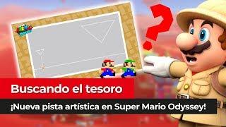 ¡Encontramos la primera! | Nintendo anuncia nuevas pistas artísticas en Super Mario Odyssey
